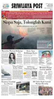 Sriwijaya Post Cover 24 August 2019
