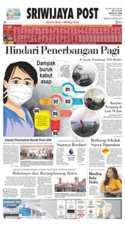 Sriwijaya Post Cover 25 August 2019