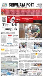 Sriwijaya Post Cover 26 August 2019