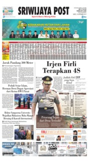 Sriwijaya Post Cover 14 September 2019