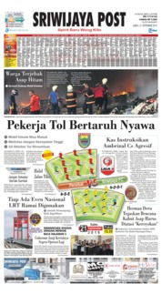 Sriwijaya Post Cover 21 September 2019