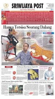 Cover Sriwijaya Post