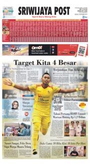 Cover Sriwijaya Post 08 Oktober 2019