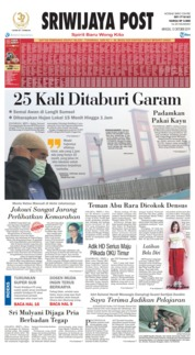 Cover Sriwijaya Post 13 Oktober 2019