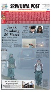 Sriwijaya Post Cover 15 October 2019