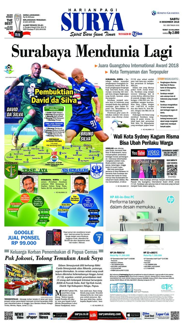 Surya Digital Newspaper 08 December 2018