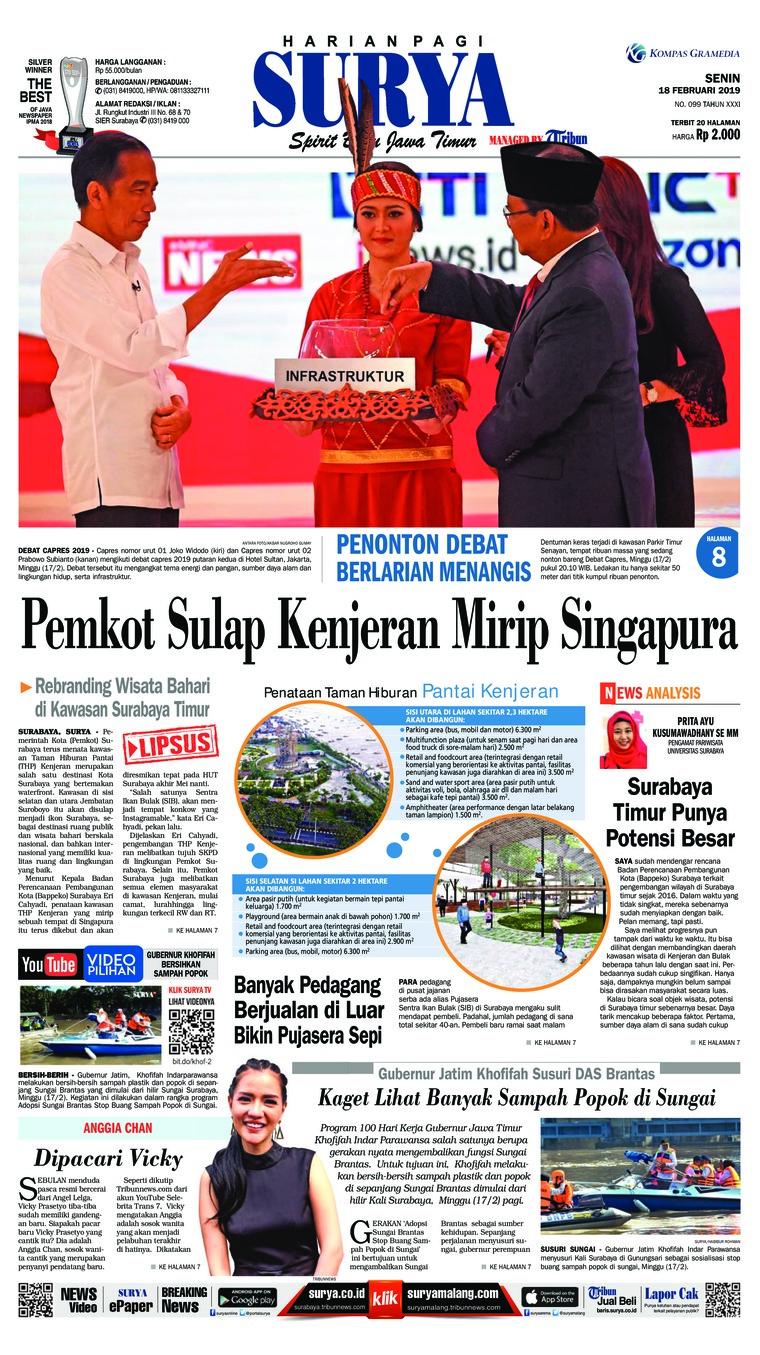 Koran Digital Surya 18 Februari 2019