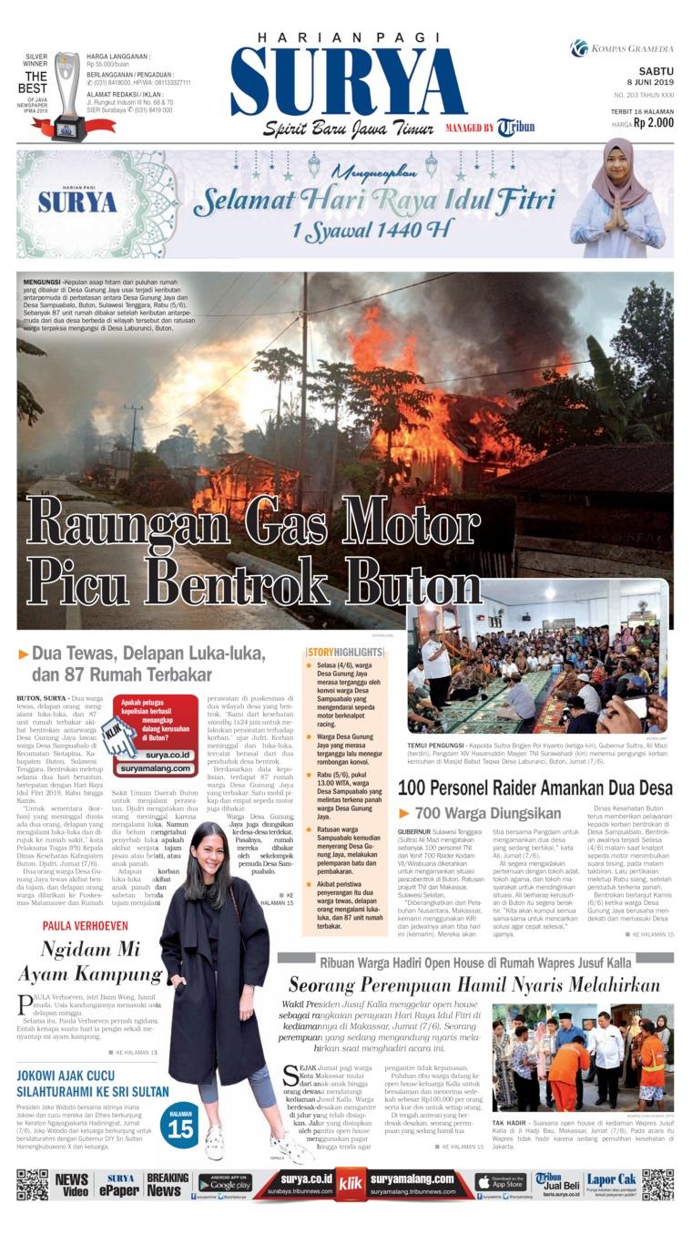 Koran Digital Surya 08 Juni 2019