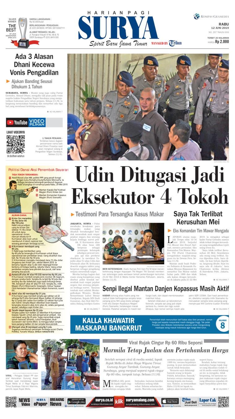 Koran Digital Surya 12 Juni 2019