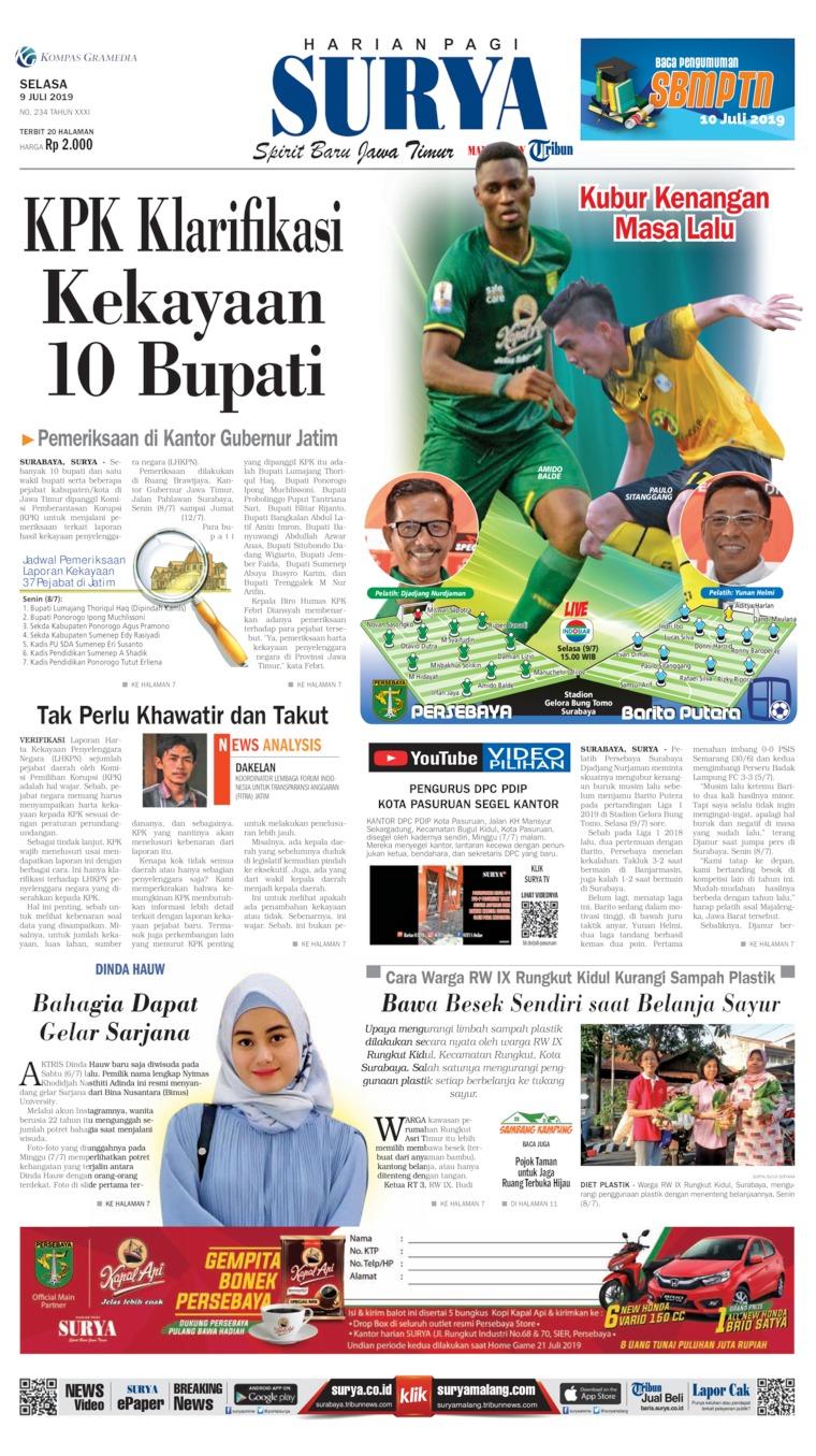 Surya Digital Newspaper 09 July 2019