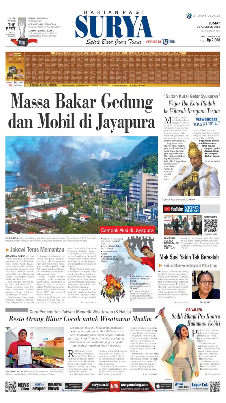 Surya Digital Newspaper 30 August 2019