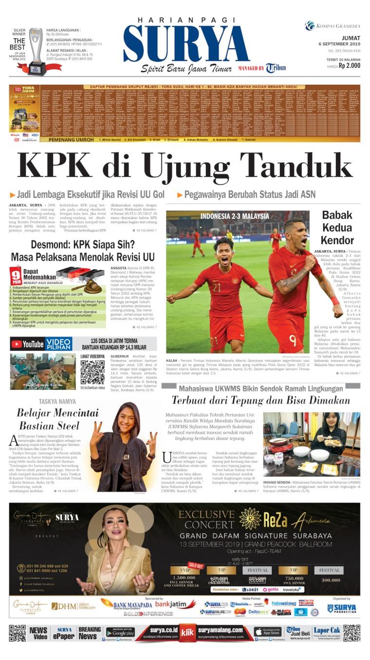 Surya Digital Newspaper 06 September 2019