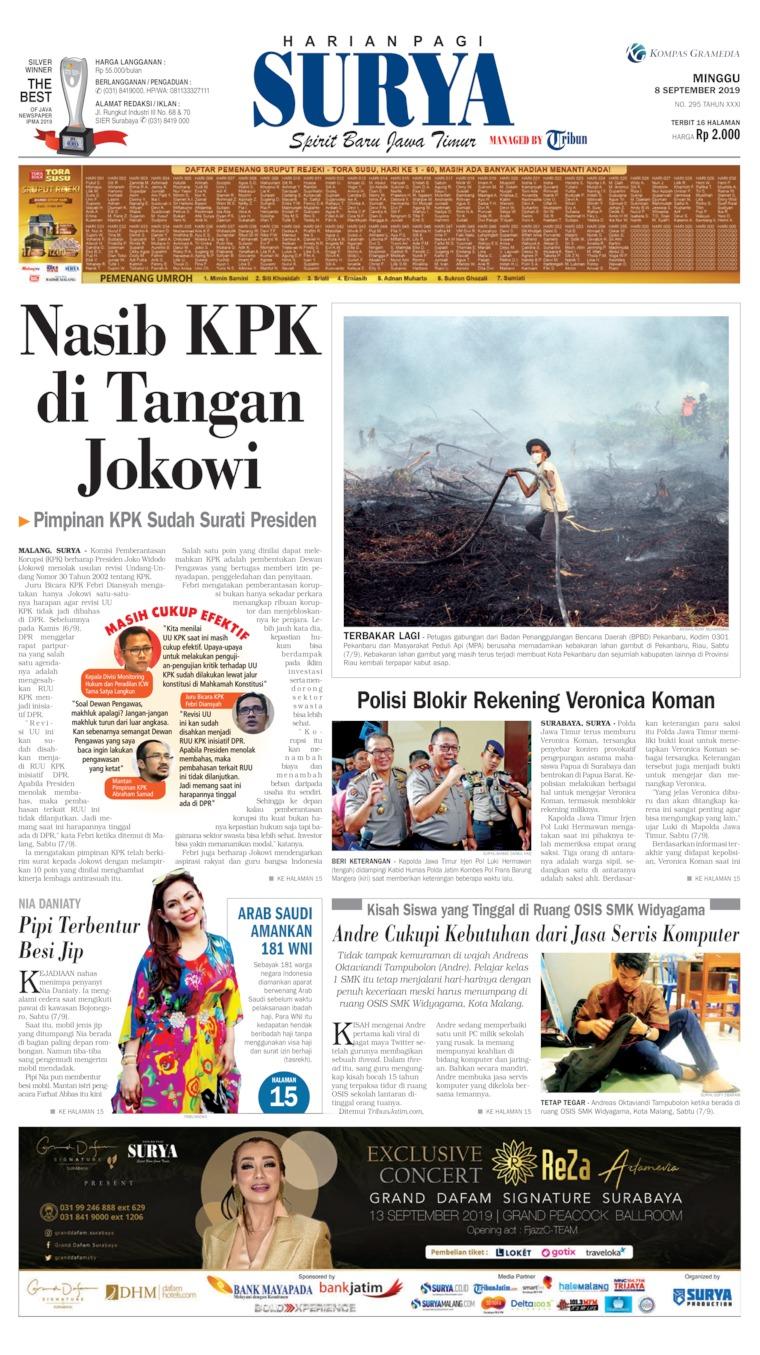 Surya Digital Newspaper 08 September 2019