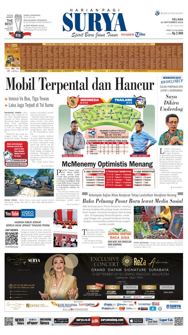 Surya Digital Newspaper 10 September 2019