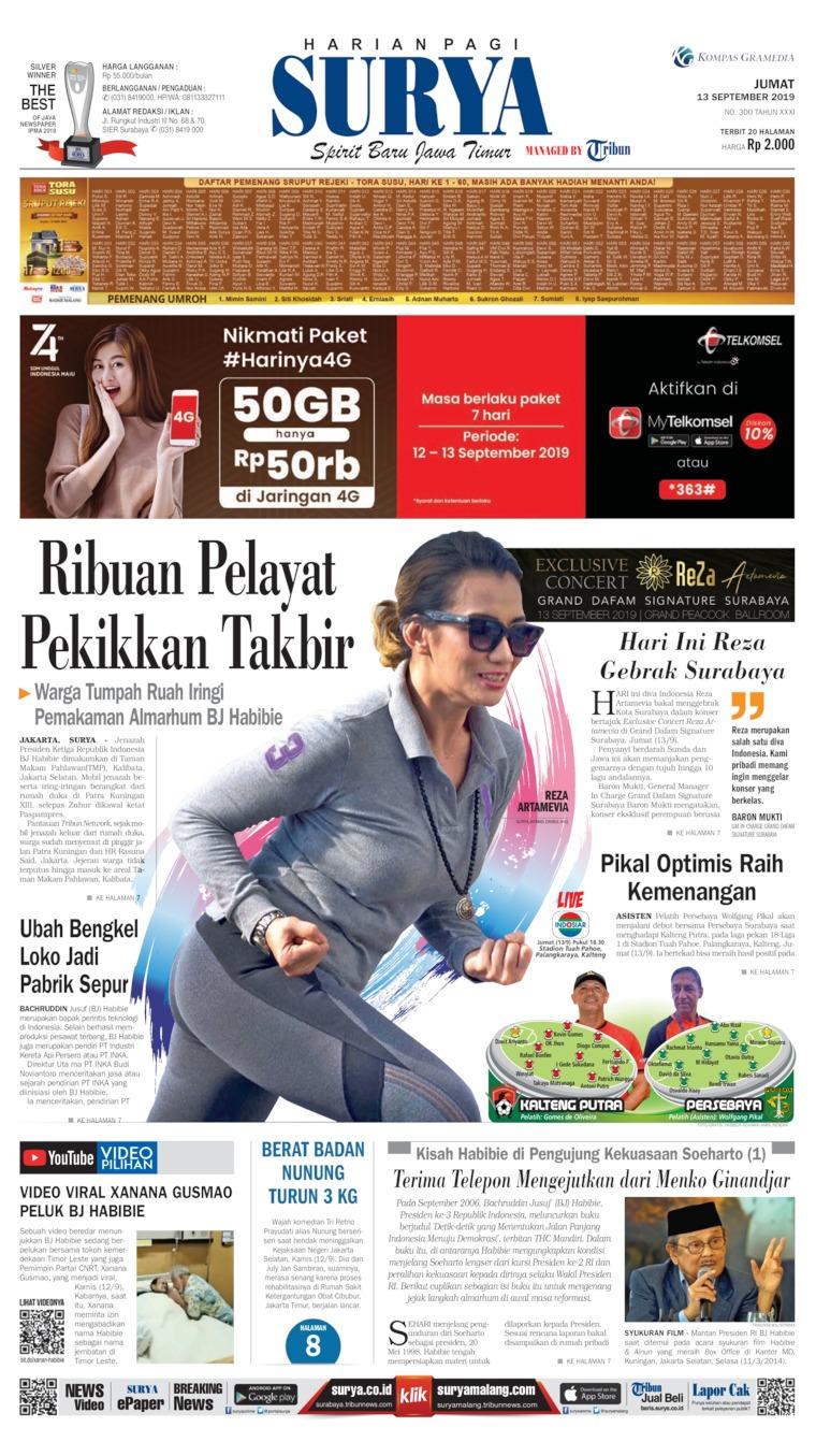 Surya Digital Newspaper 13 September 2019