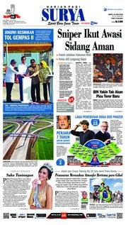 Cover Surya 23 Juni 2018