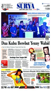 Cover Surya 13 September 2018