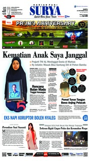 Cover Surya 15 September 2018