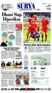 Cover Surya 19 Oktober 2018