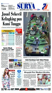 Cover Surya 12 November 2018