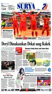 Cover Surya 14 November 2018