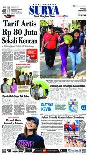 Cover Surya 06 Januari 2019