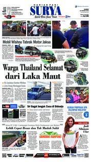 Cover Surya 10 Januari 2019
