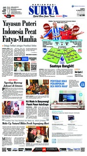 Cover Surya 12 Januari 2019