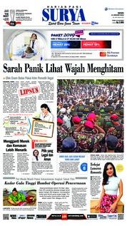 Cover Surya 14 Januari 2019