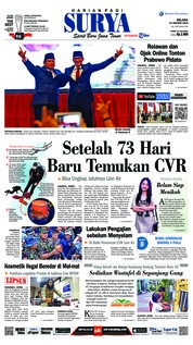 Cover Surya 15 Januari 2019
