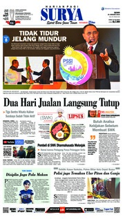 Cover Surya 21 Januari 2019