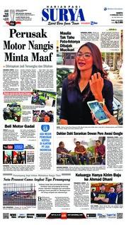Cover Surya 09 Februari 2019