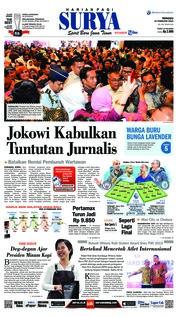 Cover Surya 10 Februari 2019