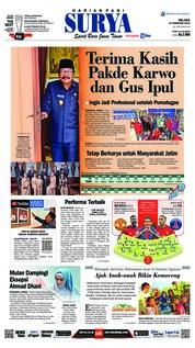 Cover Surya 12 Februari 2019