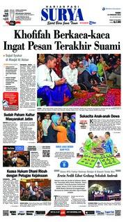 Cover Surya 13 Februari 2019