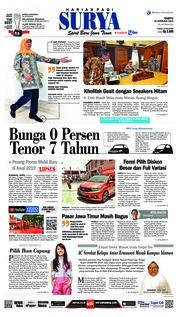 Cover Surya 16 Februari 2019