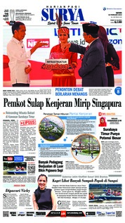 Cover Surya 18 Februari 2019