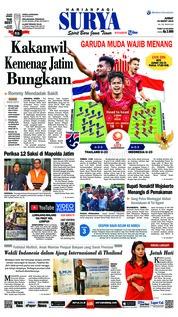 Cover Surya 22 Maret 2019