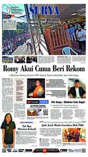 Cover Surya 23 Maret 2019