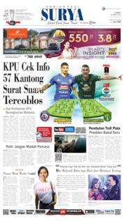 Cover Surya 12 April 2019