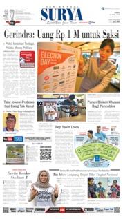 Cover Surya 17 April 2019