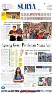 Cover Surya 13 Agustus 2019