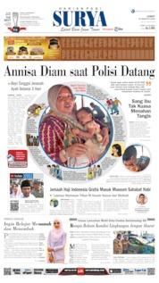 Cover Surya 16 Agustus 2019