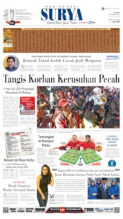 Cover Surya 03 Oktober 2019