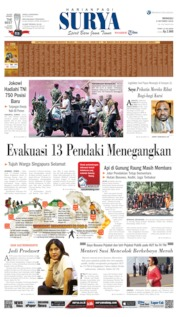 Cover Surya 06 Oktober 2019