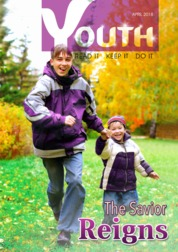 Youth Magazine Cover April 2018
