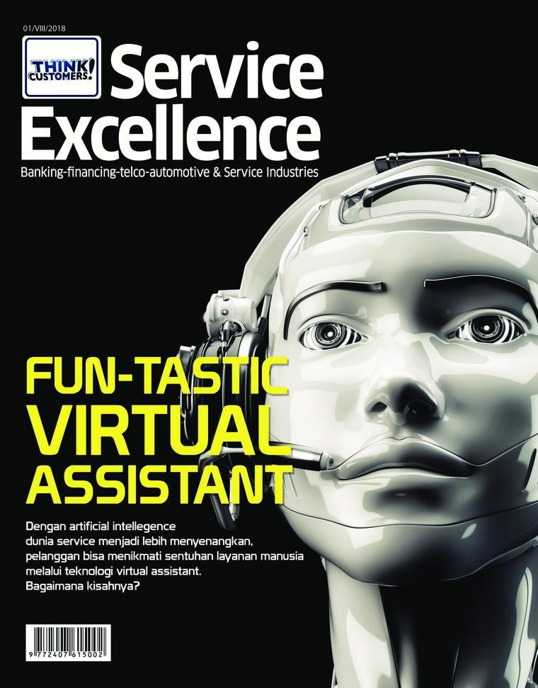 Majalah Digital Service Excellence ED 01 Maret 2018