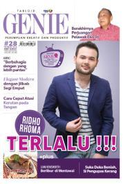 Cover Majalah Tabloid genie