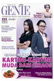 Cover Majalah Tabloid genie ED 31 April 2017