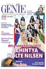 Cover Majalah Tabloid genie ED 32 April 2017
